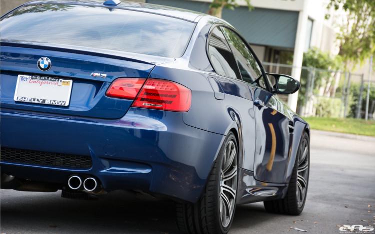 LeMans Blue BMW E92 M3 Gets Modified At European Auto Source 9 750x469
