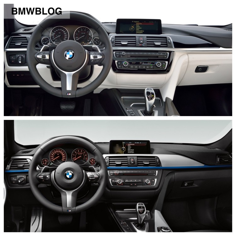 Photo Comparison: F30 3 Series Sedan Vs. Facelift