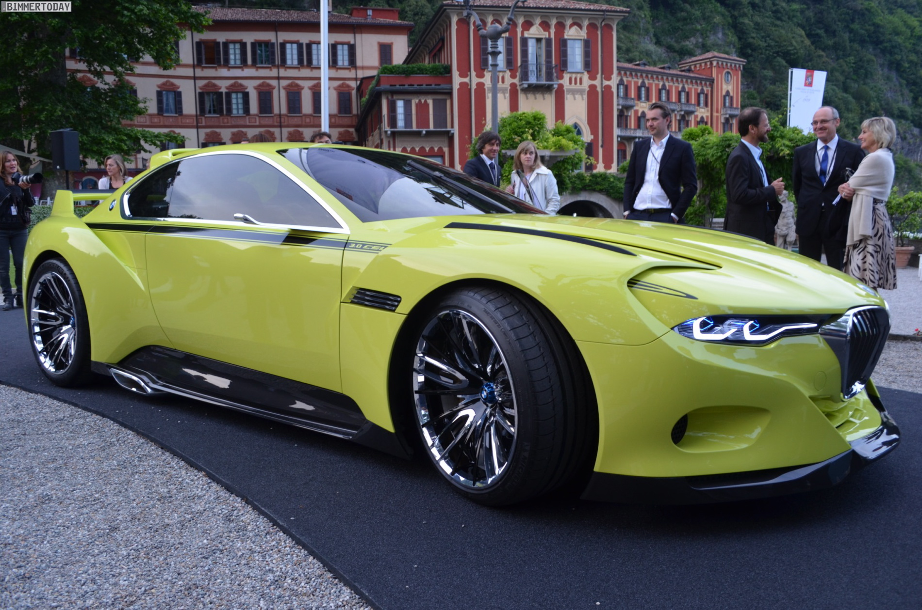 Live Photos: BMW 3.0 CSL Hommage