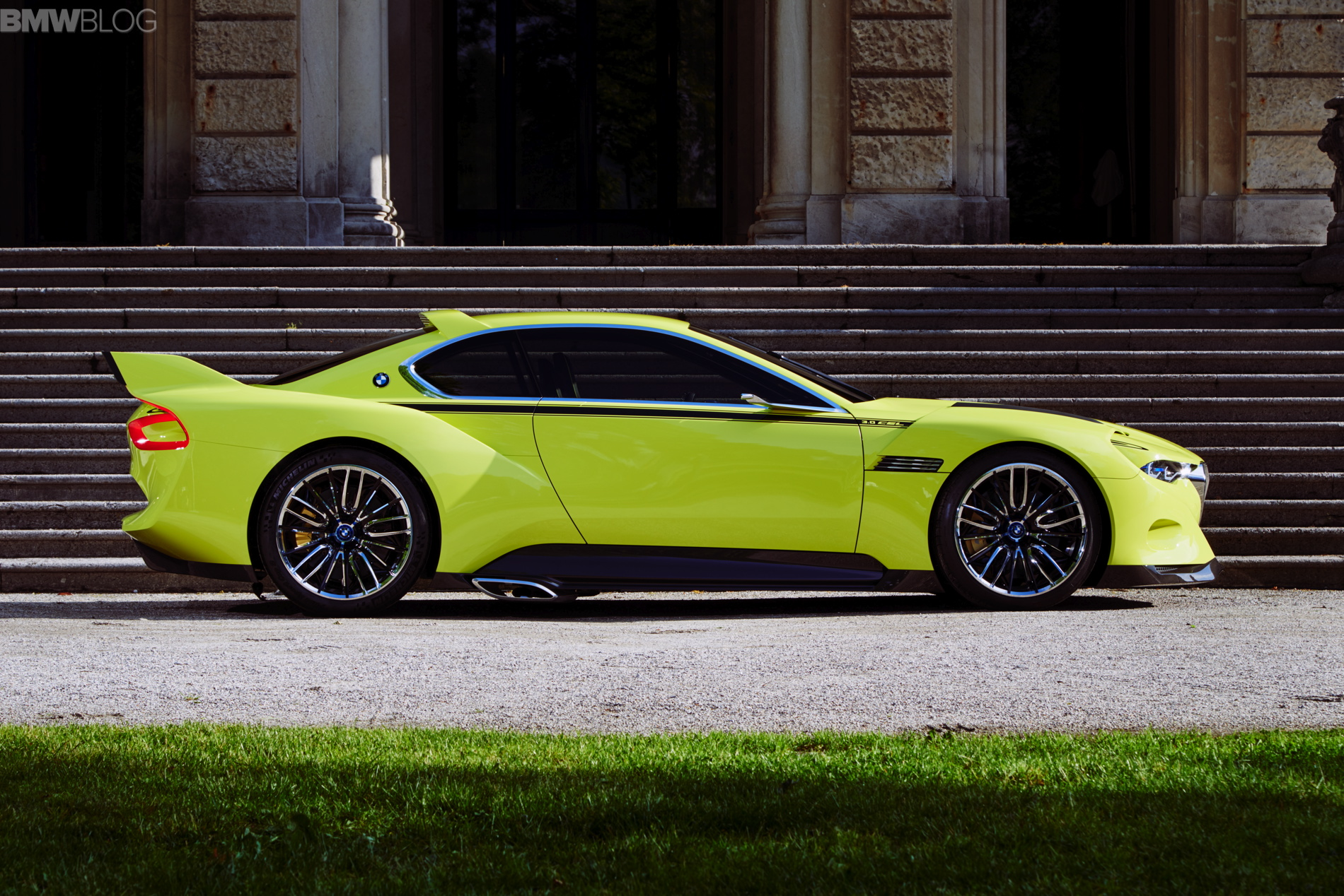 Bmw 3 0 Csl Hommage Photos From Concorso D Eleganza