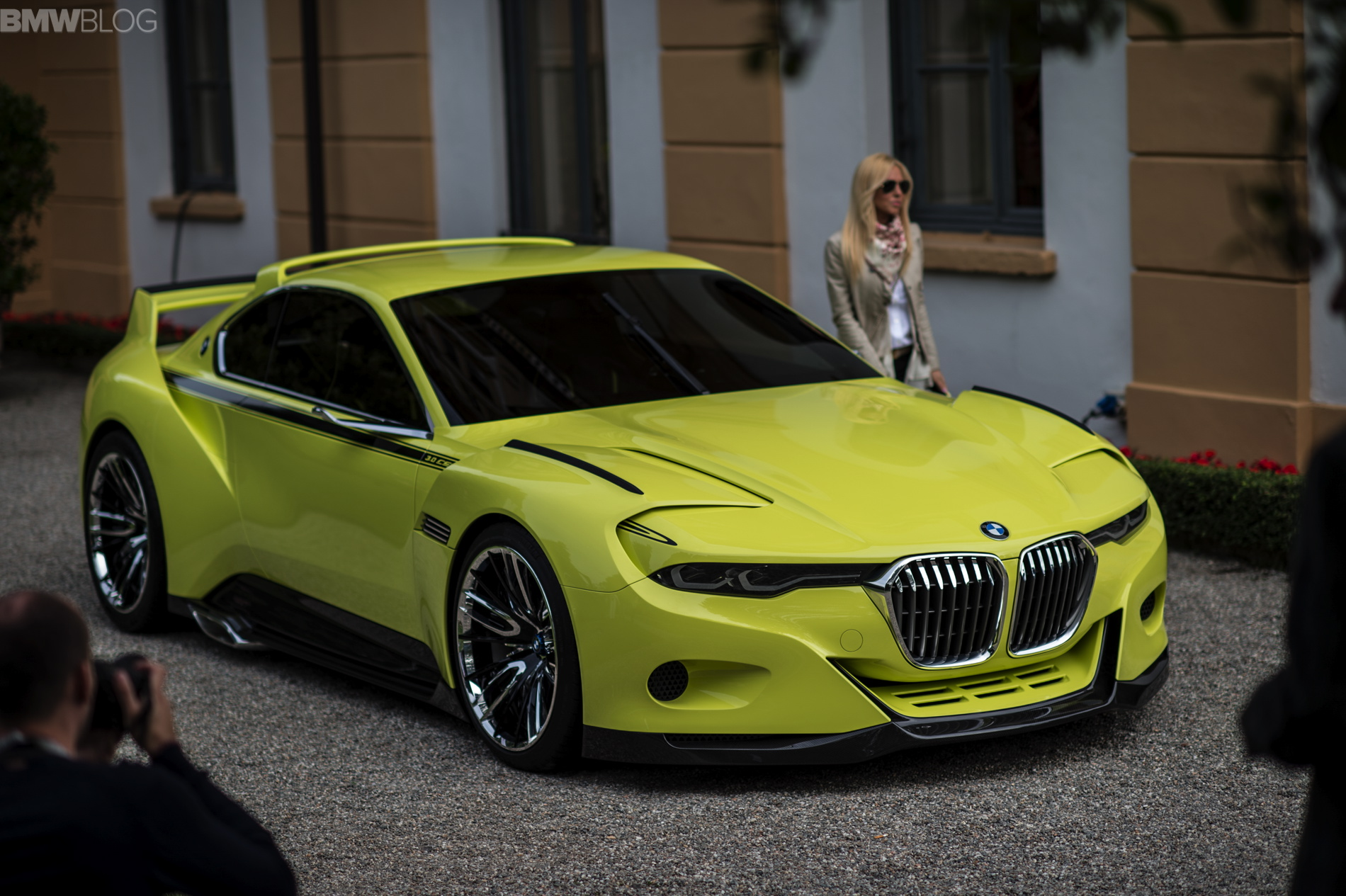 BMW 3.0 CSL Hommage Engine Start Sound