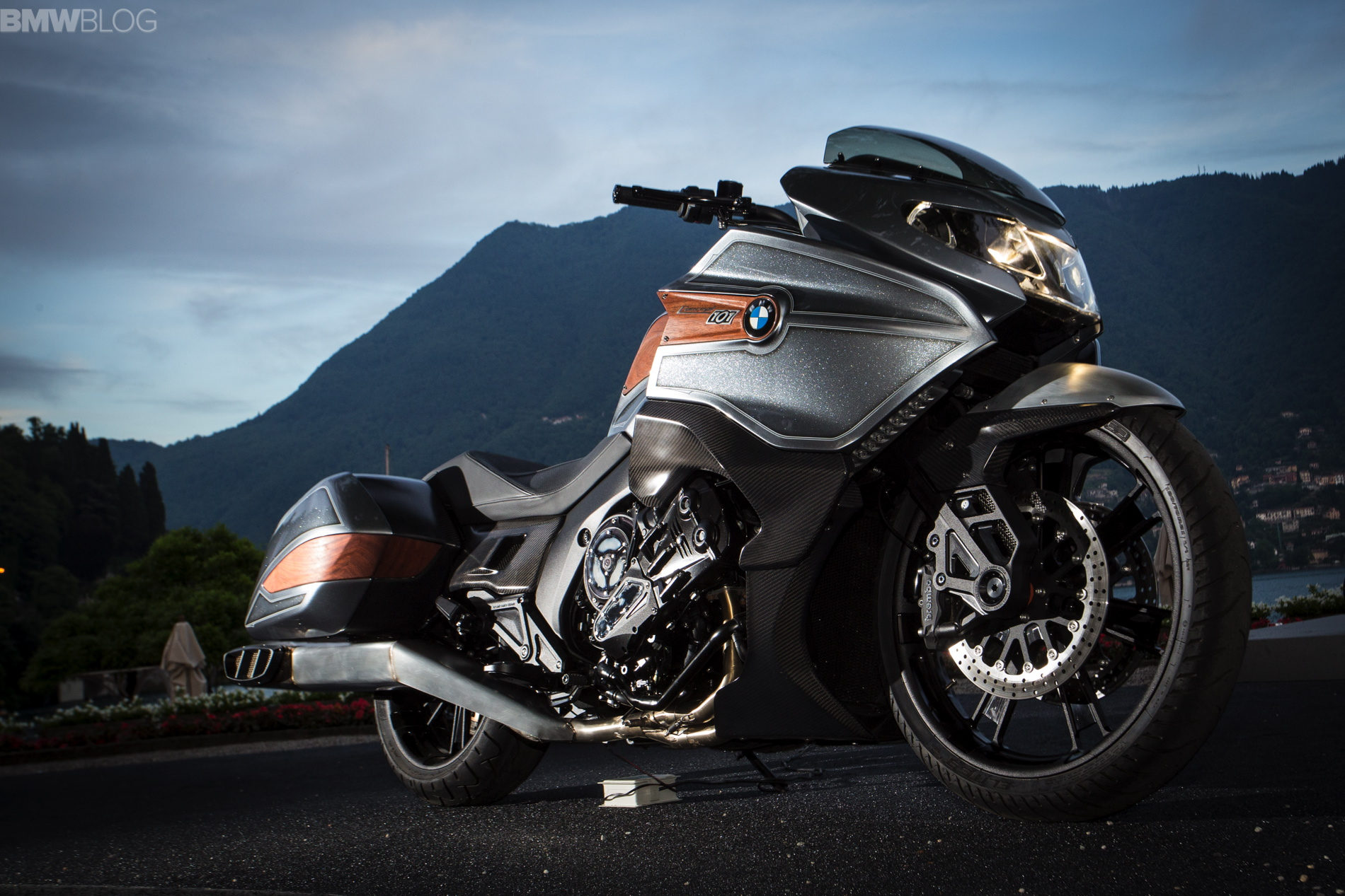 Bmw Motorrad Concept 101 New Photos