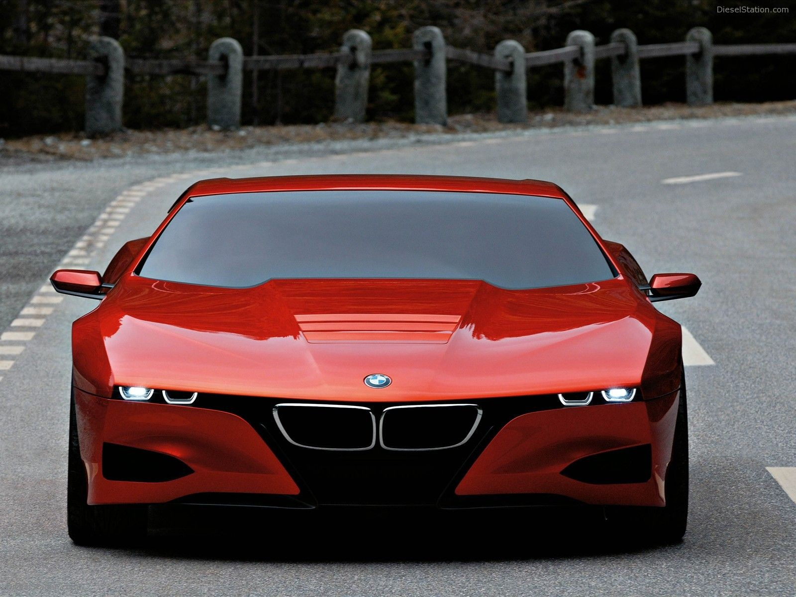 Bmw M1 Hommage Spiritual Precursor To The I8