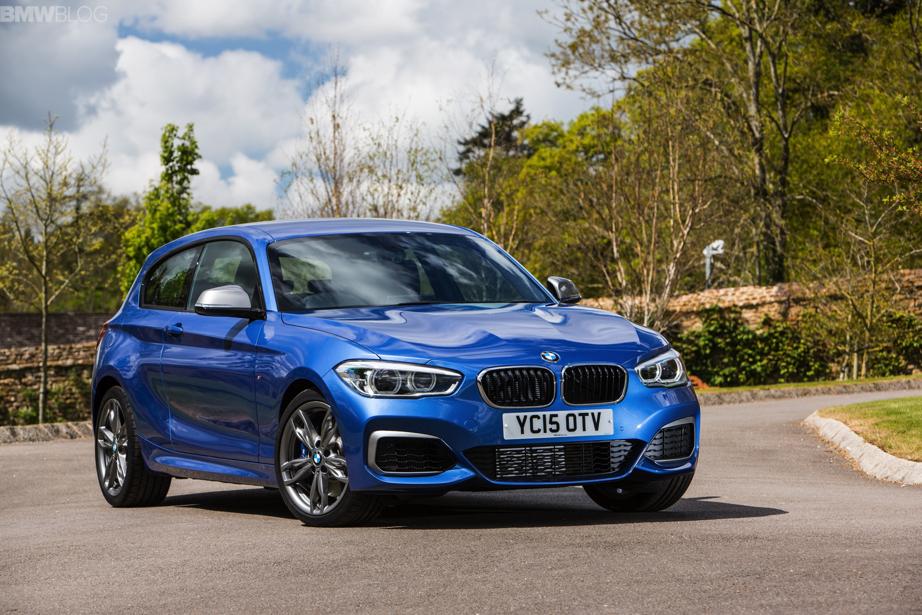 Bmw M135i In Sapphire Black Alpine White And Estoril Blue