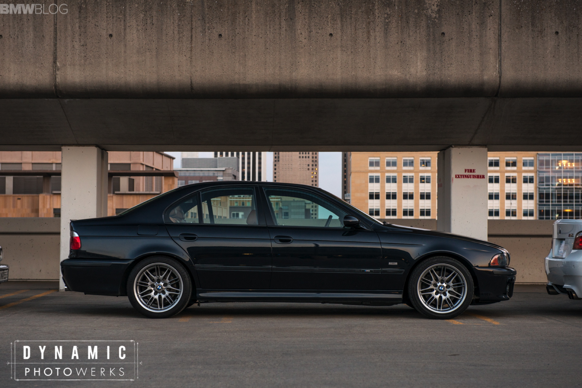 All Five Bmw M5 Generations Photoshoot