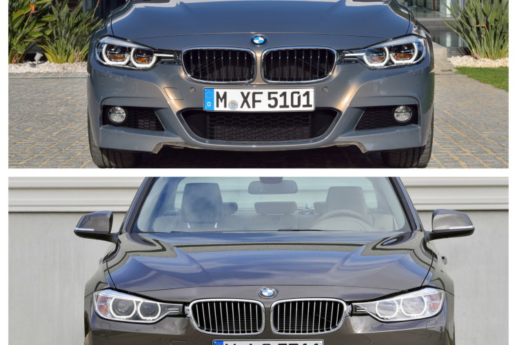 comparison f30 3 series sedan pre facelift 01 750x500