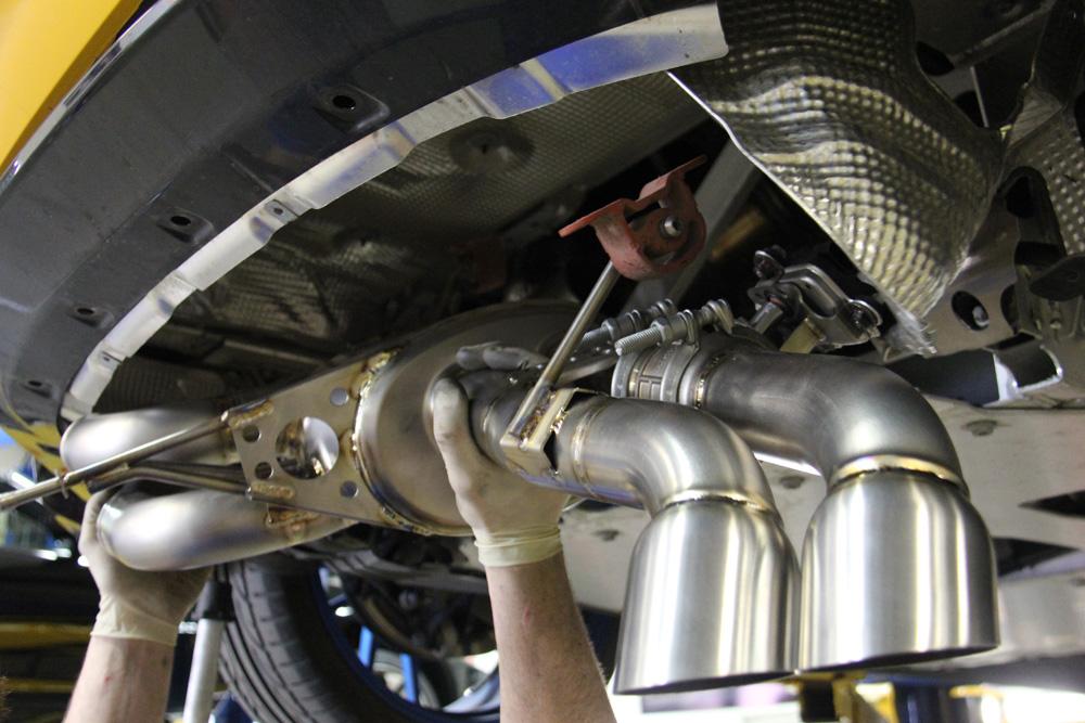 Bmw I8 Gets A New Titanium Exhaust