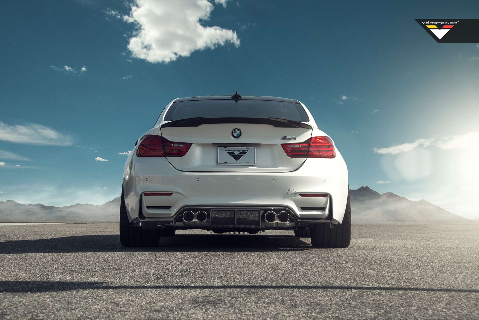 Vorsteiner Aero Front Spoiler And Evo Deck Lid For The Bmw M4