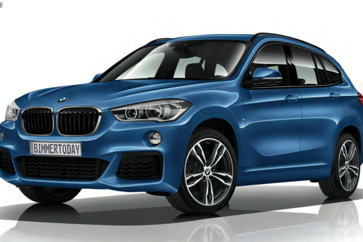 2015 BMW X1 M Sportpaket F48 Estoril Blau 01 750x500