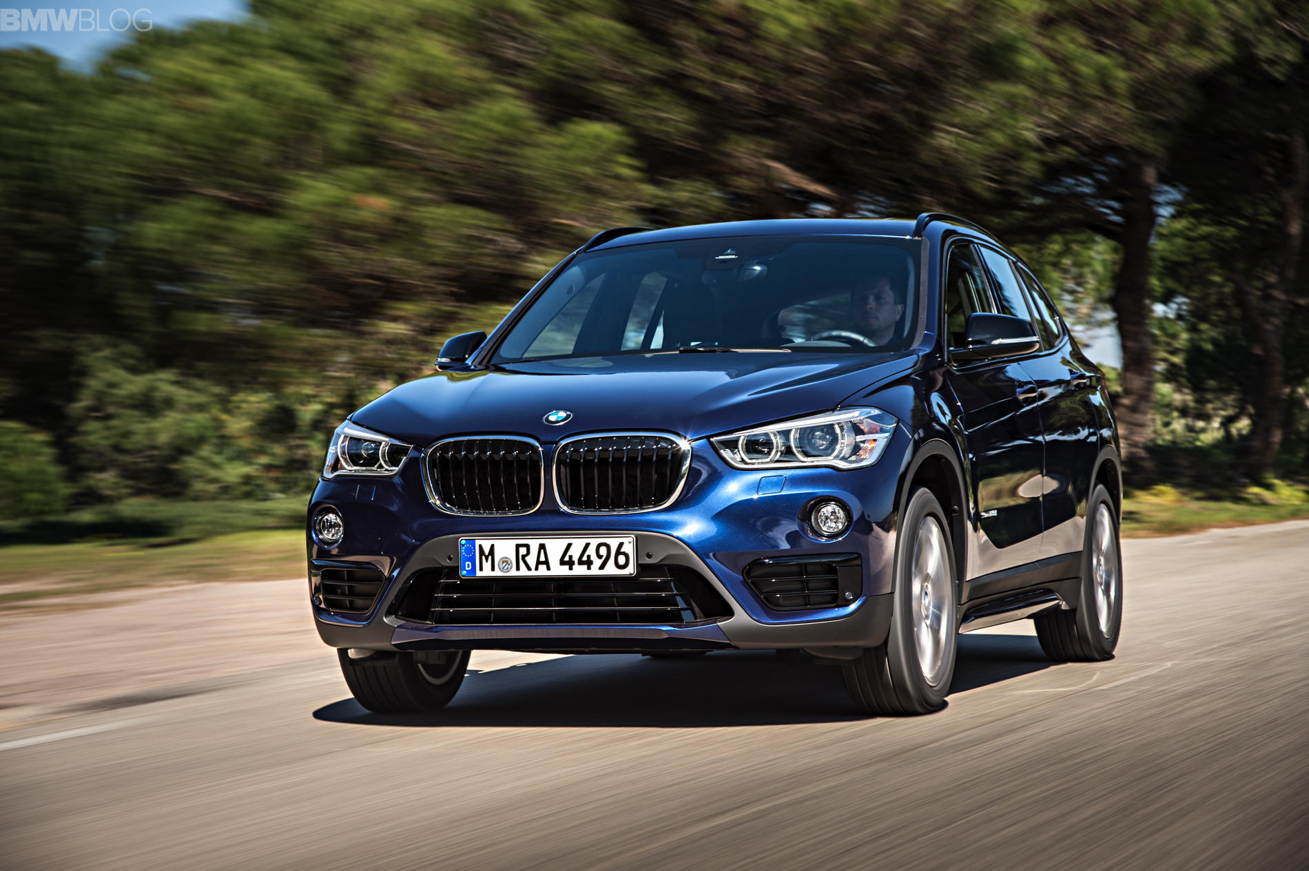 2016 BMW X1 M Sport Package 1900x1200 images 09