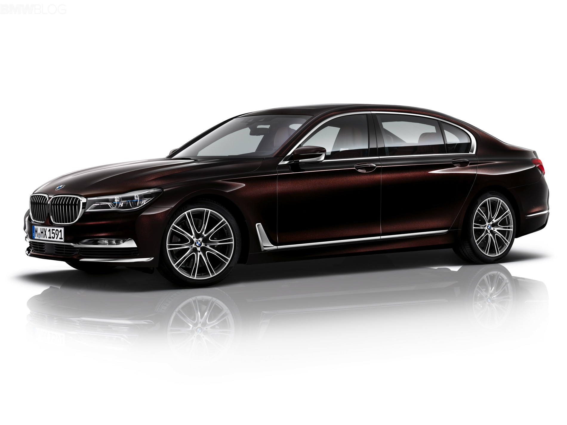 2016 Bmw 7 Series Individual In Almandine Brown Video