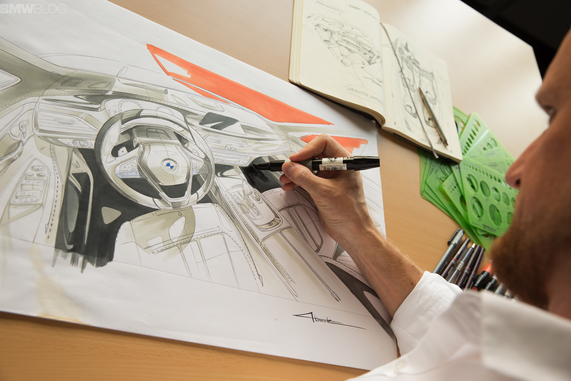 Fascinating Videos Of The New Bmw 7 Series Design Process
