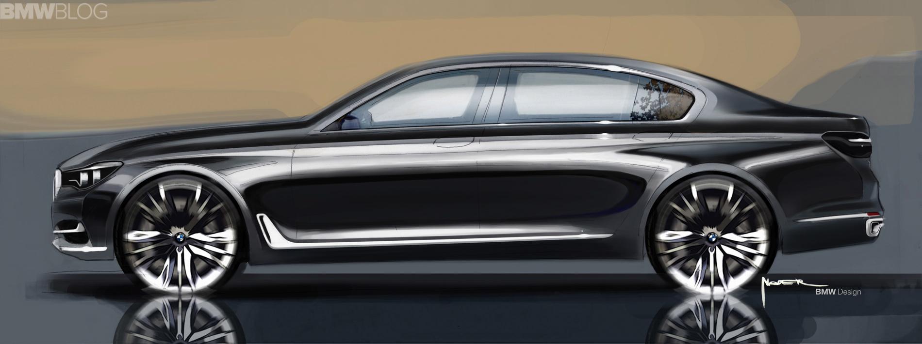 2016 bmw 7 series sketches images 1900x1200 08