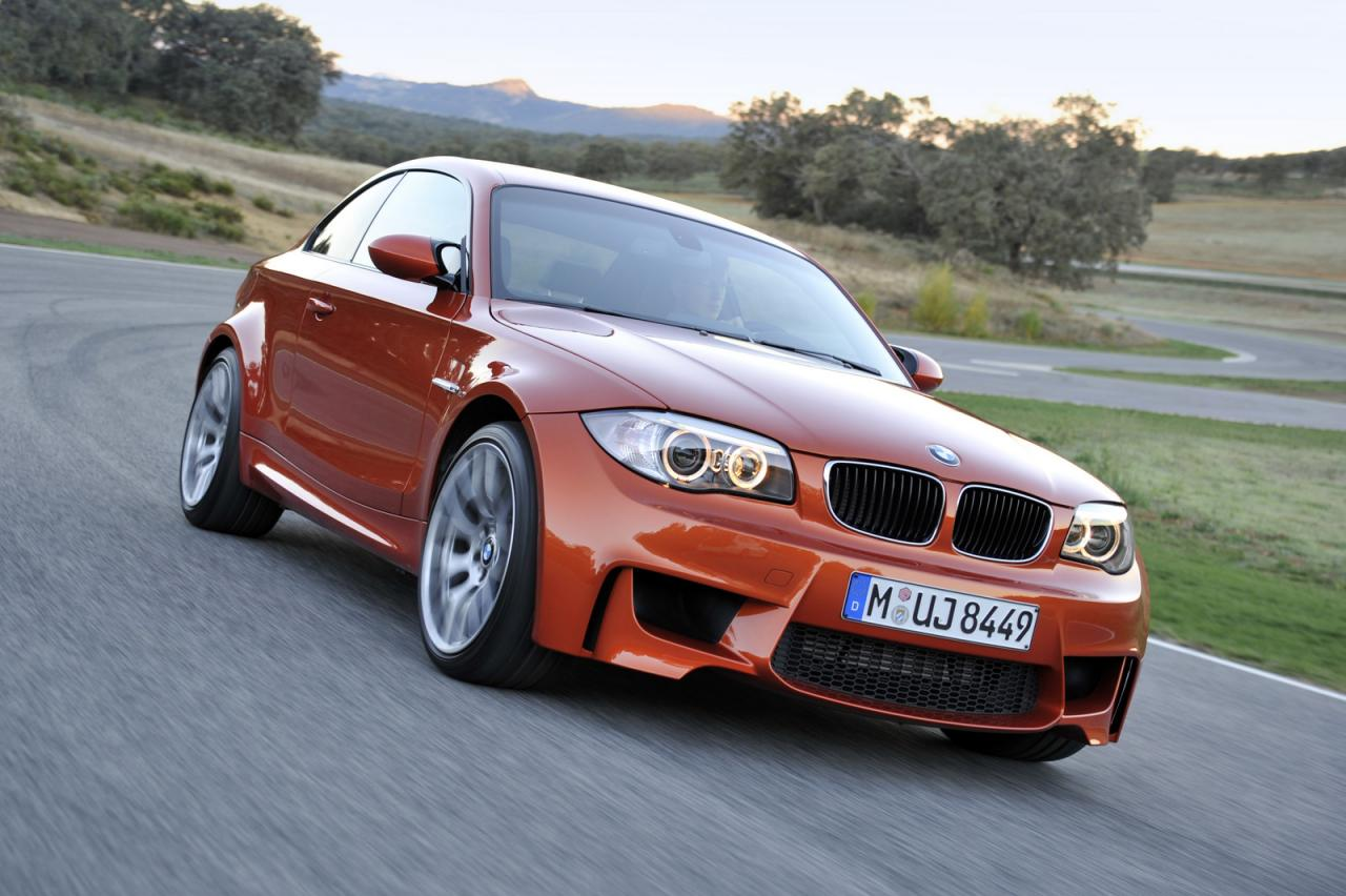 BMW 1 Series M Coupe 2011 Front Side 1