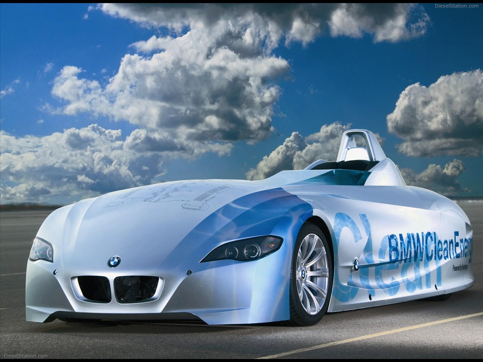 BMW H2R Hydrogen Racecar 2004 12