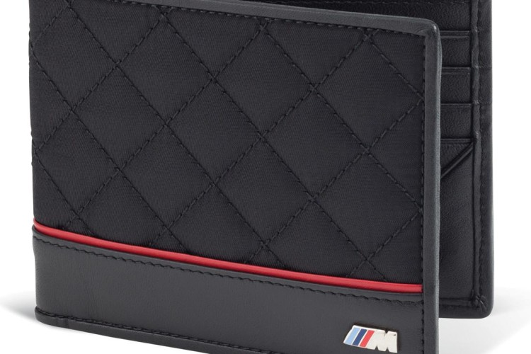 BMW M Quilted Wallet 750x500