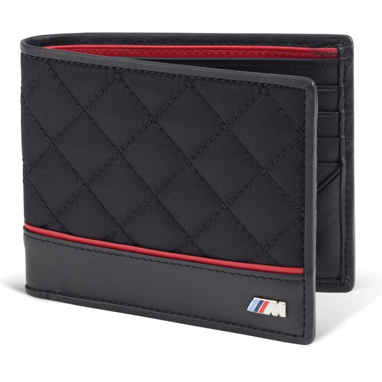 BMW M Quilted Wallet 750x750