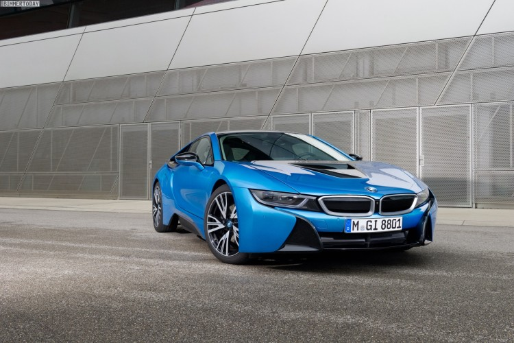 Bmw I8 Protonic Blue Color No Longer Offered