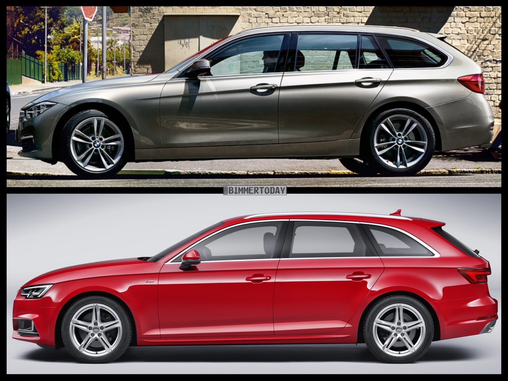 Bmw 3 Series Touring Vs Audi A4 Avant Vs Mercedes Benz C