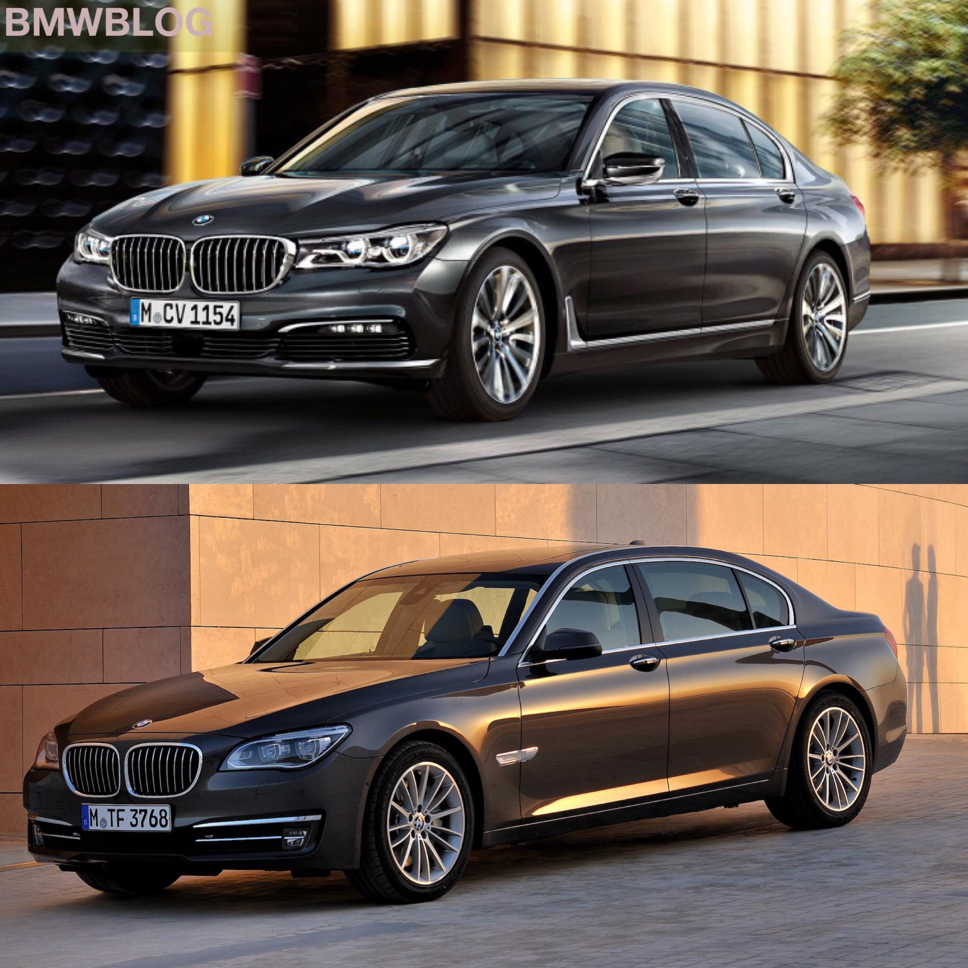 Photo Comparison G11 7 Series Vs F01 7 Series
