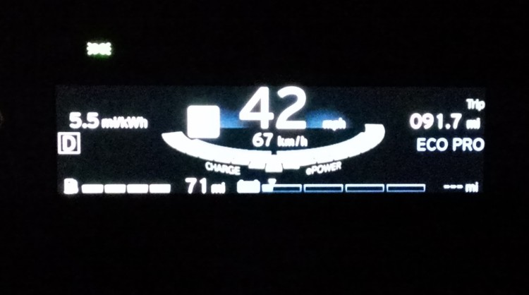 91 miles on a charge is my personal best to date