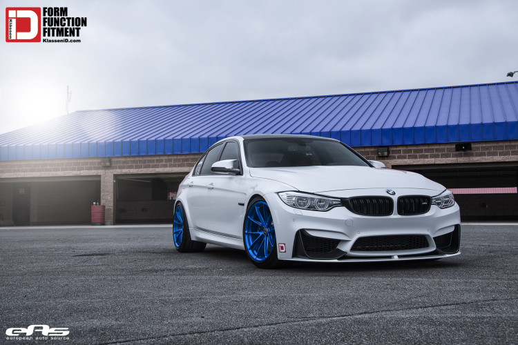Mineral White BMW F80 M3 On Klassen MS03 Wheels 1 750x500