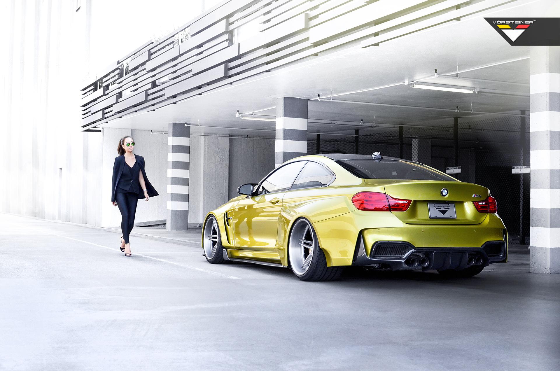Vorsteiner BMW GTRS4 Widebody 4