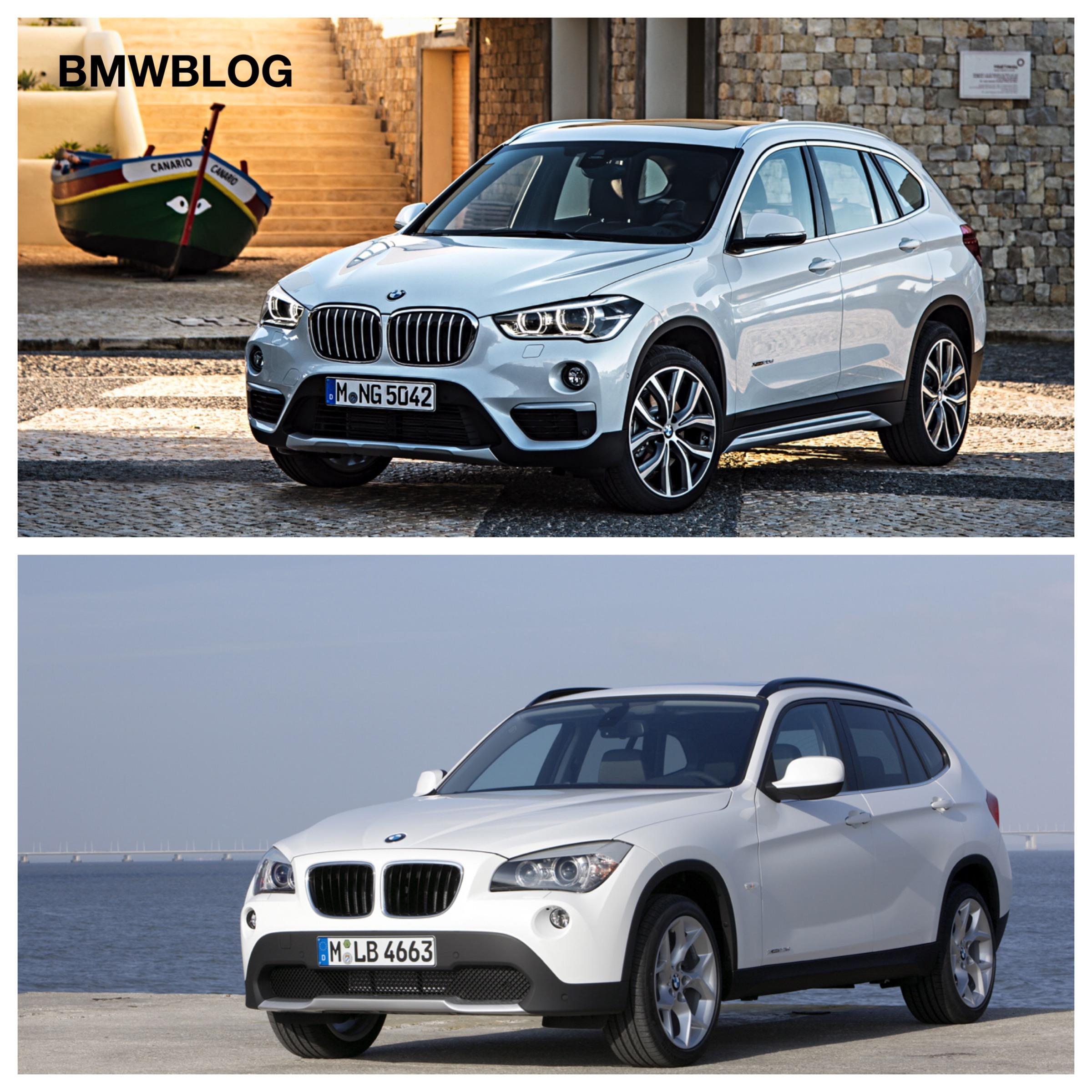Bmw X1 Vs X3 >> E84 BMW X1 vs. 2016 BMW X1 F48 - Photo Comparison