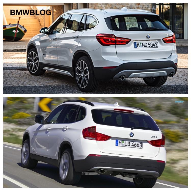E84 BMW X1 Vs. 2016 BMW X1 F48