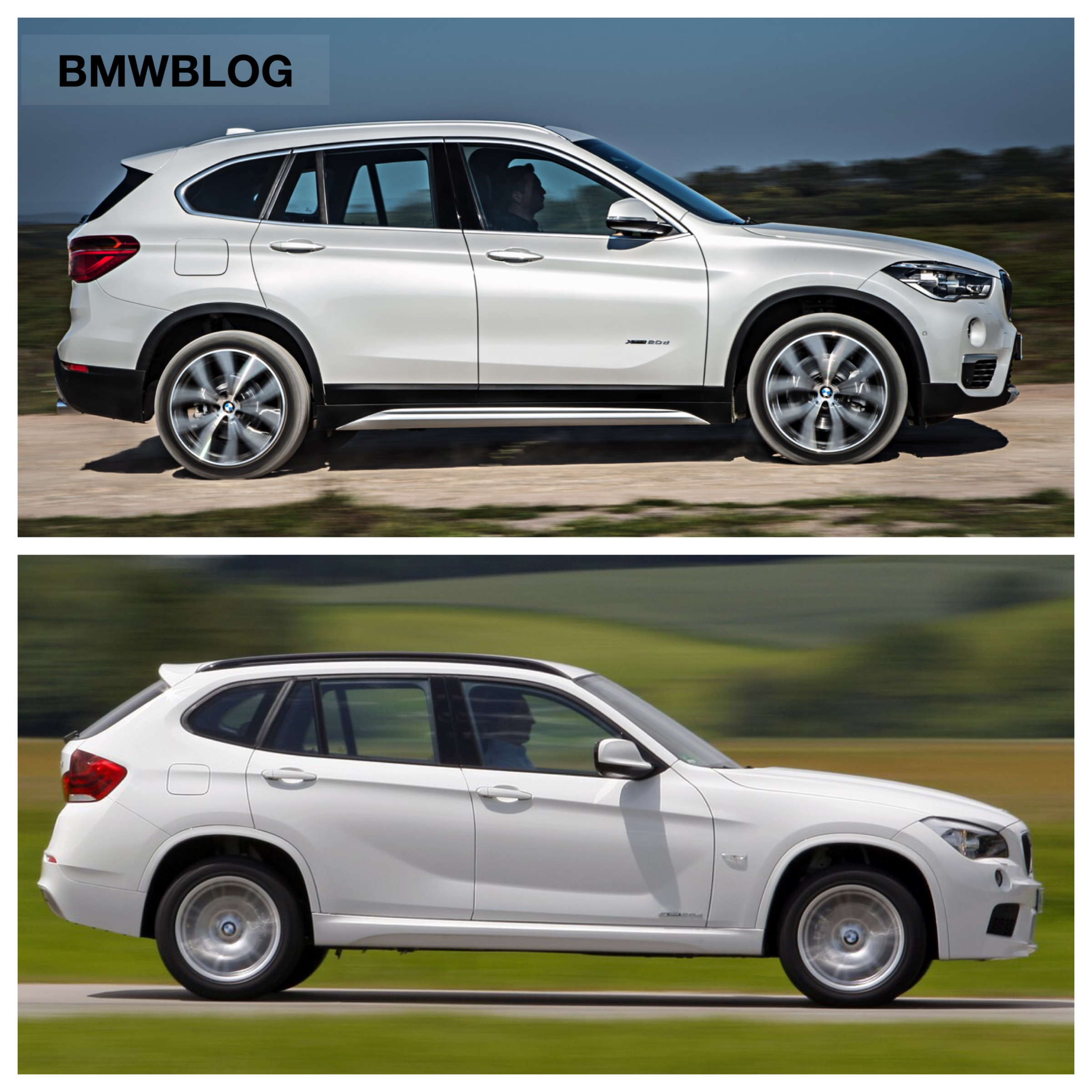 e84 bmw x1 vs 2016 bmw x1 f48 photo comparison. Black Bedroom Furniture Sets. Home Design Ideas