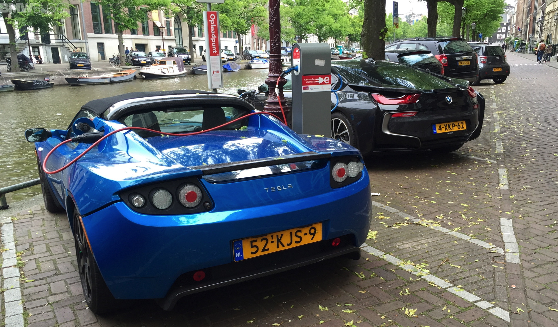 Amsterdam Loves Its Electric Cars