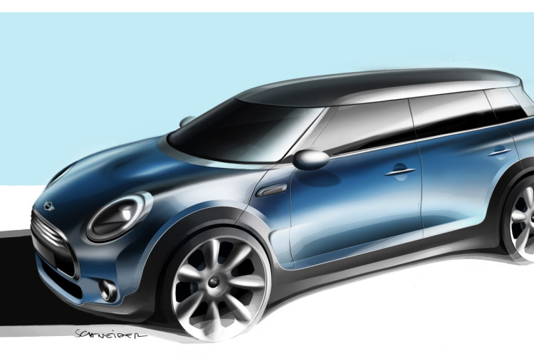 The Design Of The New Mini Clubman