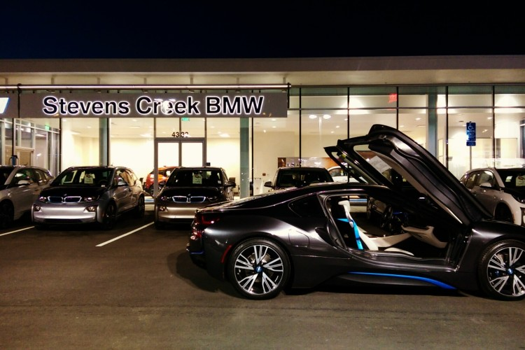 BMW Of Stevens Creek >> First Standalone Bmw I Dealership Opens In California