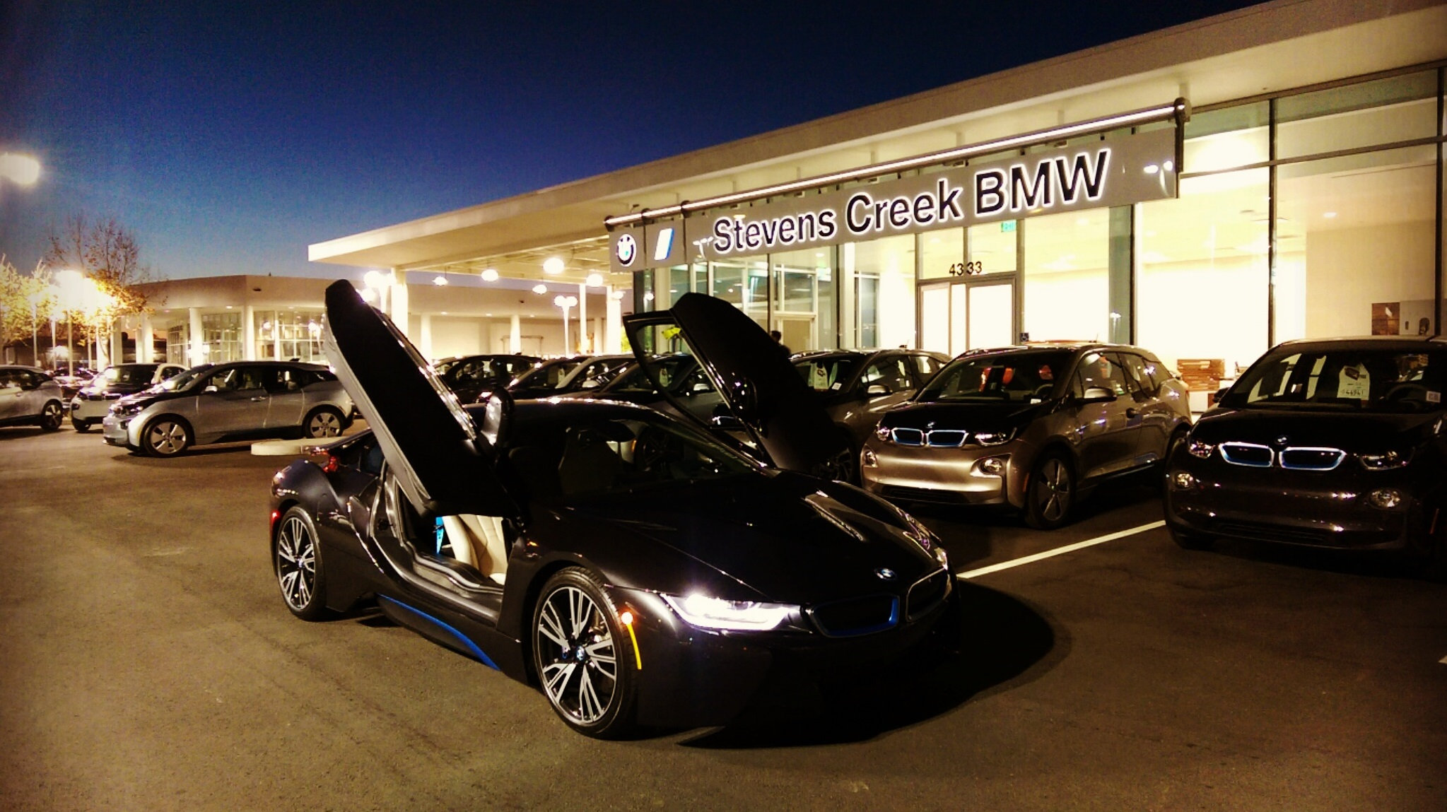 BMW Of Stevens Creek >> First standalone BMW i dealership opens in California