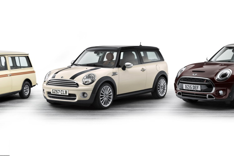three generations mini clubman images 01 750x500