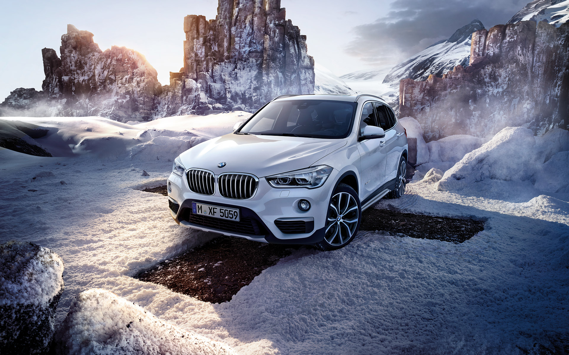 All Bmw Models >> 2016 BMW X1- Wallpapers