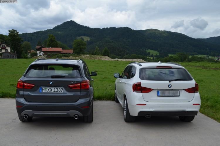 2015 BMW X1 F48 vs E84 Generationen Vergleich 02 750x497