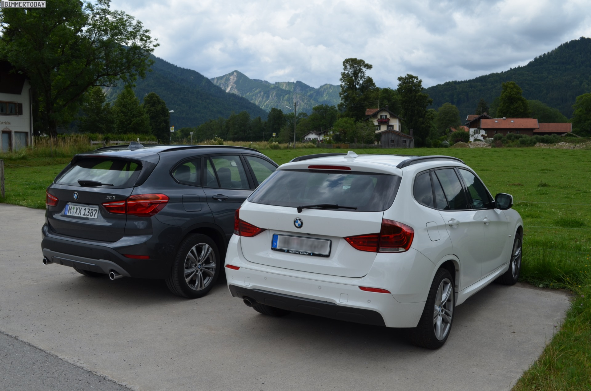 Bmw Model Lineup >> Real Life photos: E84 X1 vs. F48 X1