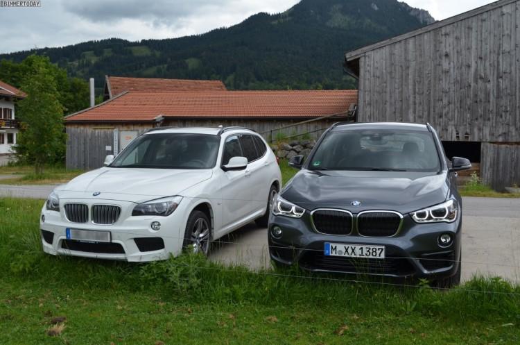 2015 BMW X1 F48 vs E84 Generationen Vergleich 05 750x497