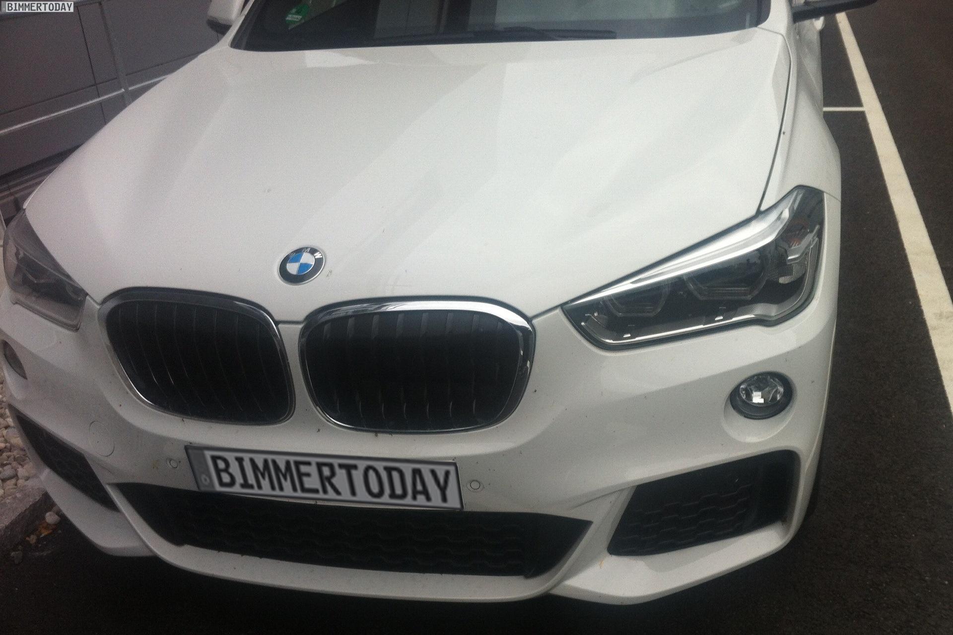 2015 BMW X1 M Sport Paket F48 Fotos weiss 01