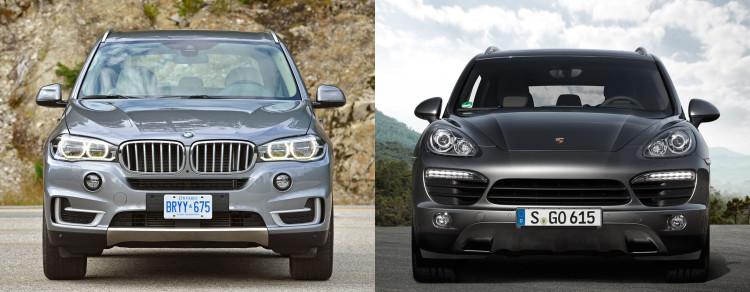 2015 bmw x5 xdrive35d porsche caynne diesel comparison 750x292