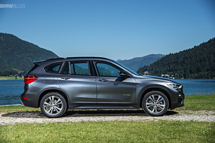 bmw x1 introduces new models sdrive16i sdrive18i xdrive18d. Black Bedroom Furniture Sets. Home Design Ideas