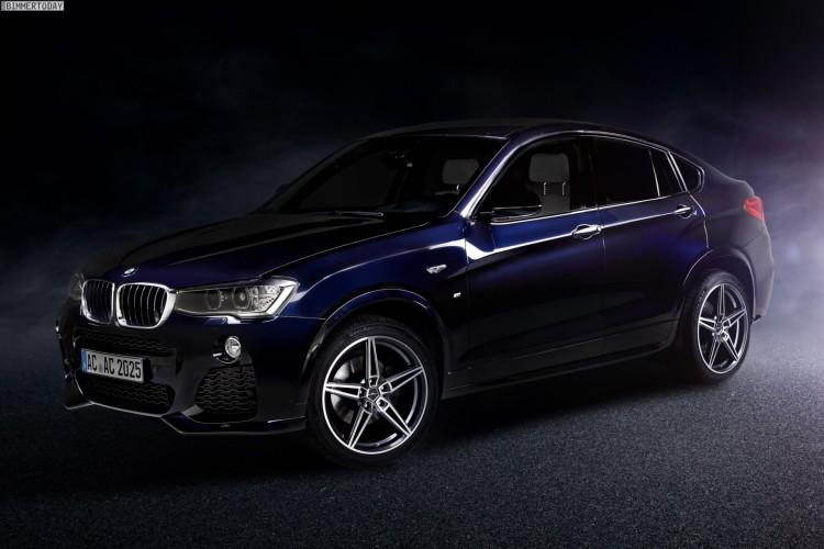 AC Schnitzer Felgen AC1 BMW X4 20 Zoll Bicolor 750x500