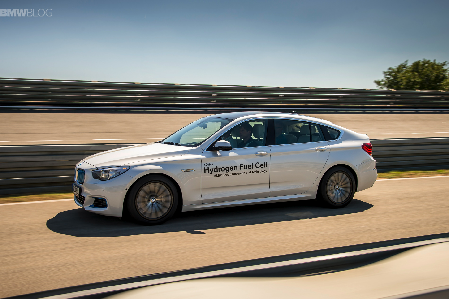 Driving A Bmw Prototype With Hydrogen Fuel Cells
