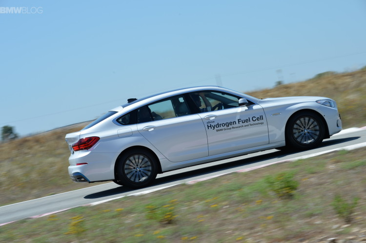 BMW 5 Series GT Hydrogen Fuel Cell