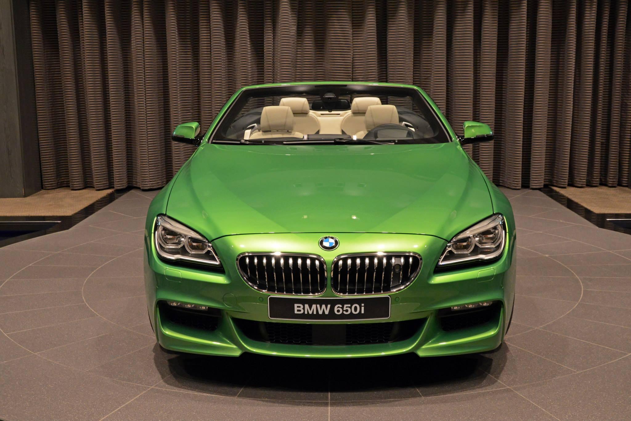 BMW 6er Cabrio Java Gruen Individual 650i F12 LCI 02