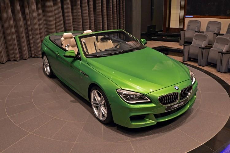 BMW 6er Cabrio Java Gruen Individual 650i F12 LCI 04 750x500
