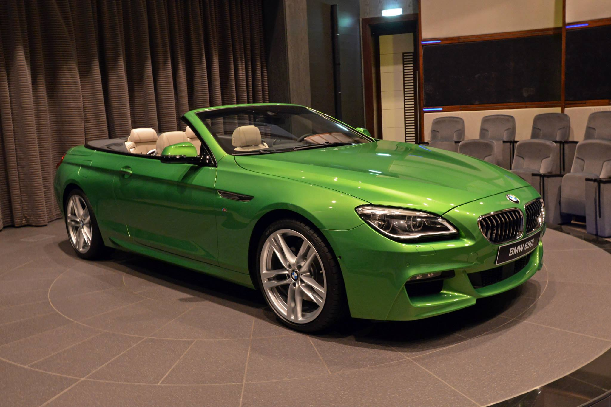 Bmw 6 Series Convertible In Java Green