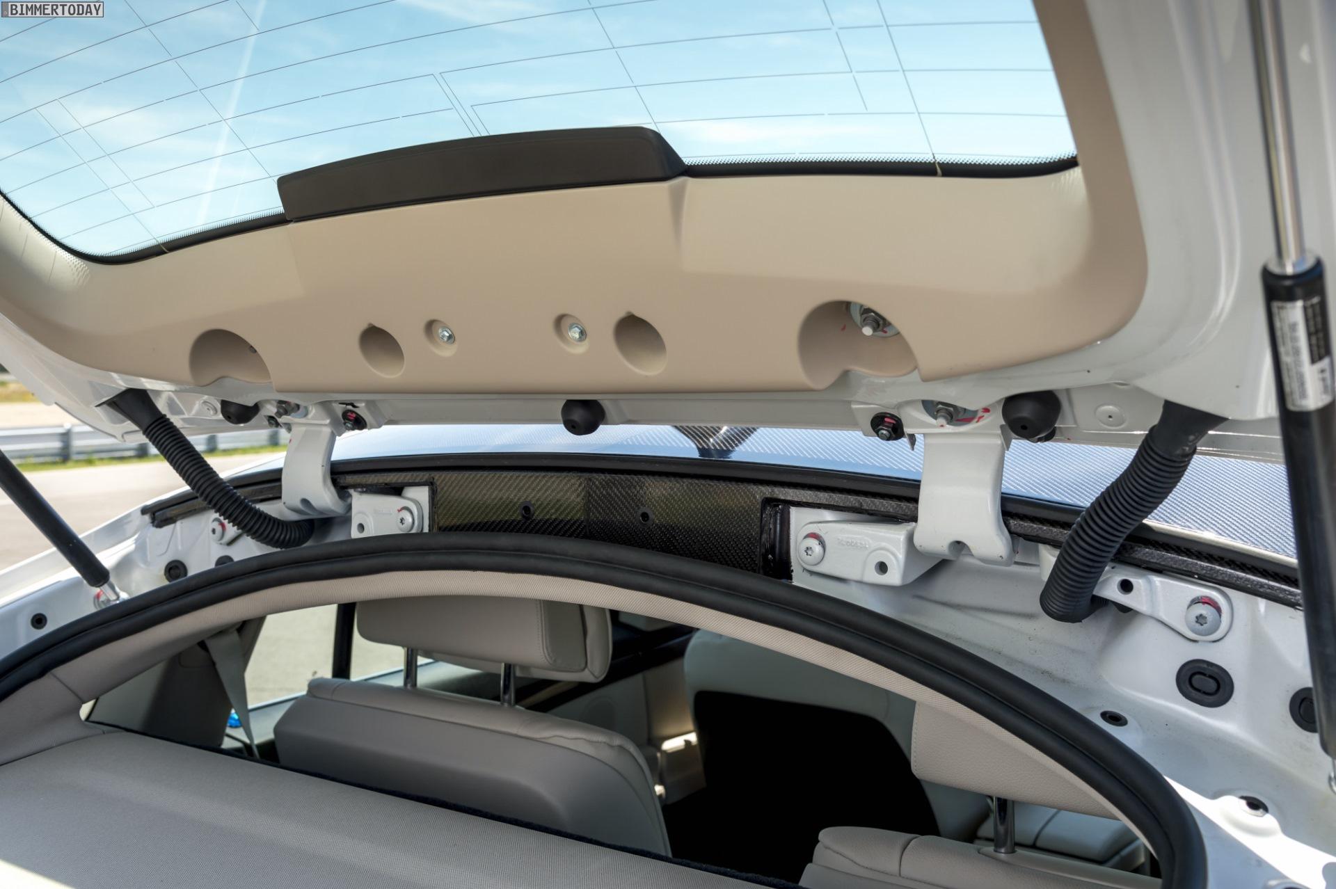 BMW Carbon Leichtbau Karosserie Teile Prototyp 03