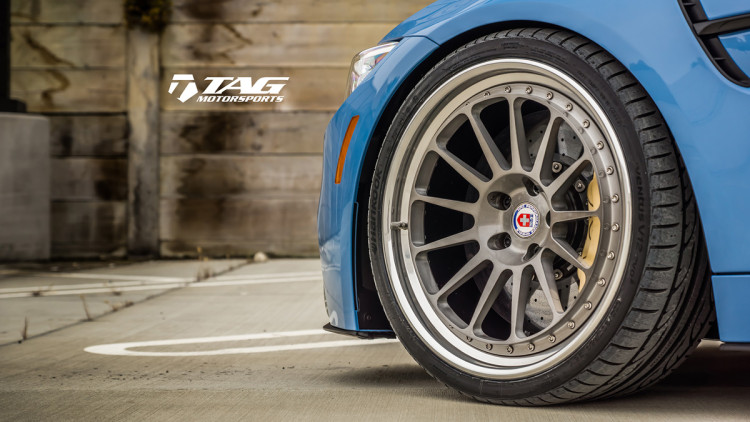 BMW M4 with HRE Classic 303 Wheels in Brushed Dark Clear 6 750x422